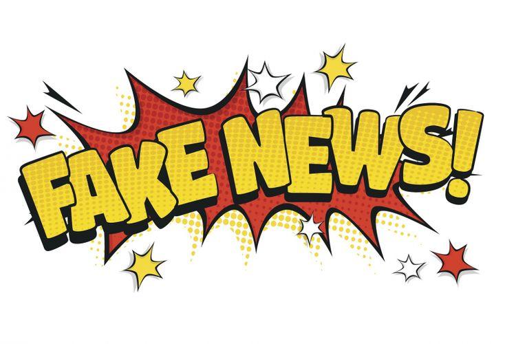 Ilustrasi hoaks dan fake news.