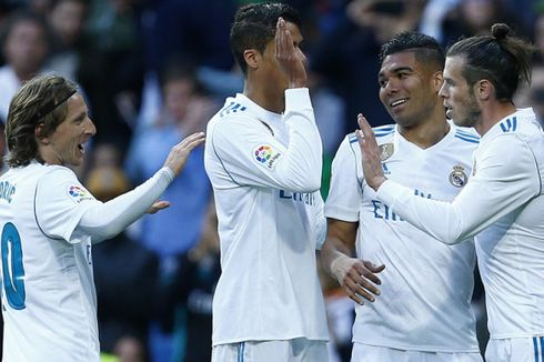 Hasil Liga Spanyol, Meski Tanpa Ronaldo, Real Madrid Pesta 6 Gol