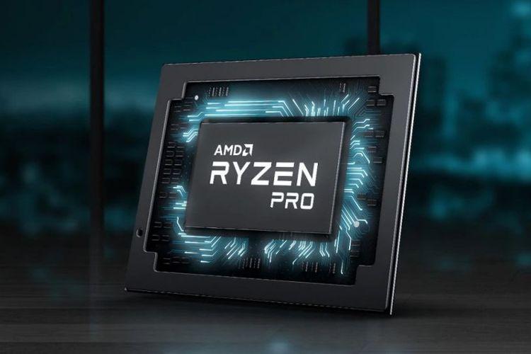 Ilustrasi prosesor AMD Ryzen Pro
