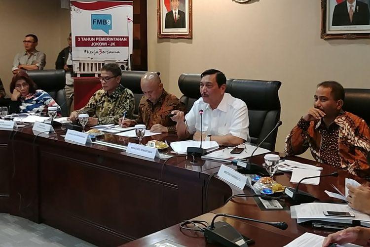 Luhut Sindir Kontribusi Freeport di Papua