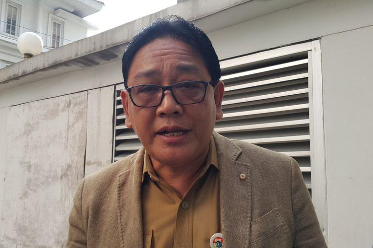 Kepala Dinas Pendidikan DKI Jakarta Sopan Adrianto di Balai Kota DKI Jakarta, Jalan Medan Merdeka Selatan, Senin (24/7/2017).