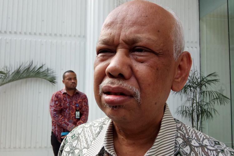Cendekiawan muslim, Azyumardi Azra Ketika Ditemui di Kantor Wakil Presiden RI, Jakarta, Jumat (11/8/2017).
