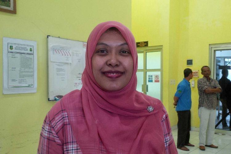 Dokter spesialis.forensik.RSUD.R.Syamsudin Kota Sukabumi Nurul Aida Fathya