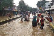 Banjir, Jalan Jatinegara Barat Lumpuh