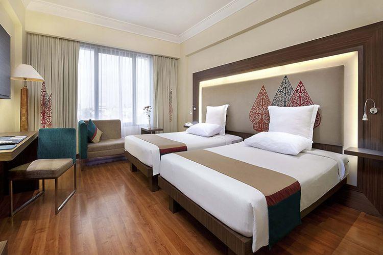 Kamar keluarga di Hotel Novotel Solo
