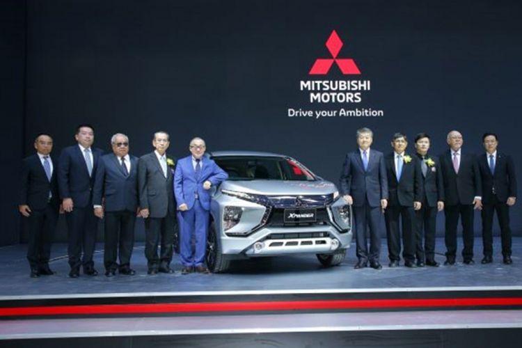 Mitsubishi Xpander secara resmi dikenalkan di Thailand