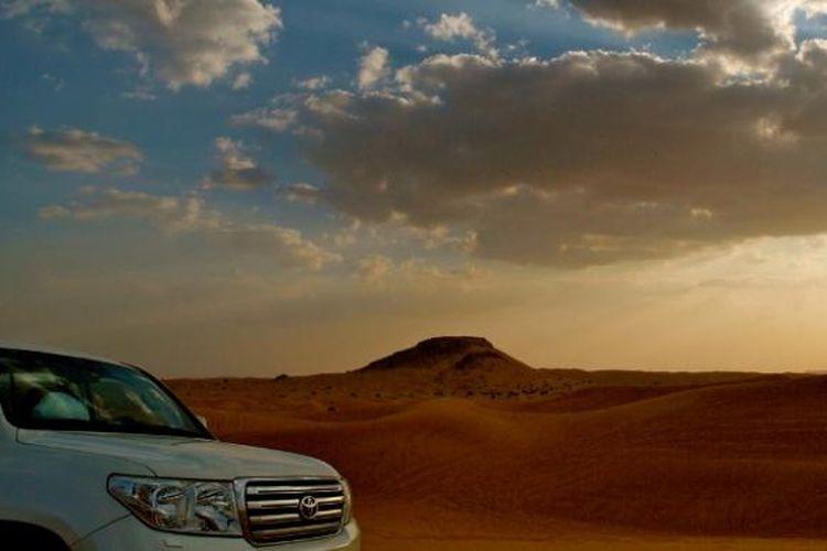 Desert Safari di Dubai, Uni Emirat Arab.