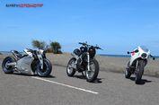 Trio Honda CBR250RR 'Modif' Memukau dari Yogya