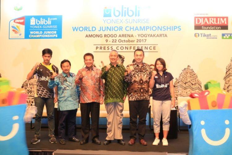 Yogyakarta akan menjadi kota penyelenggara kejuaraan dunia bulu tangkis yunior BWF yang akan berlangsung 9 hingga 22 Oktober mendatang.