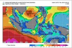 BMKG: Awas Gelombang Tinggi 6 Meter dan Angin Kencang Ancam Keselamatan Pelayaran
