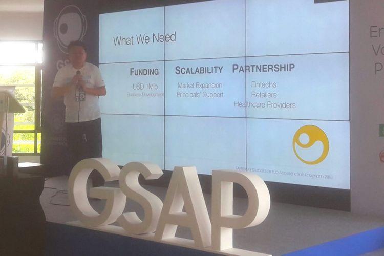 Global Startup Acceleration Program (GSAP), Jumat (27/7/2018).