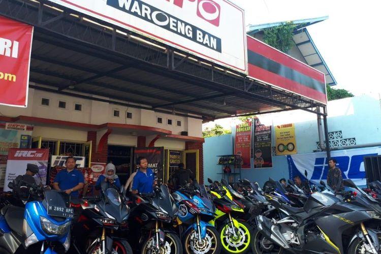 Komunitas pengguna motor sport 250 cc.