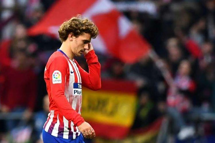 Antoine Griezmann resmi meninggalkan Atletico Madrid pada akhir musim 2018-2019.