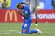 Arti Tangisan Neymar Seusai Brasil Menang Atas Kosta Rika