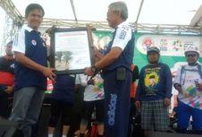 Turis Asing Ikuti Sepeda Nusantara di Luwu Timur