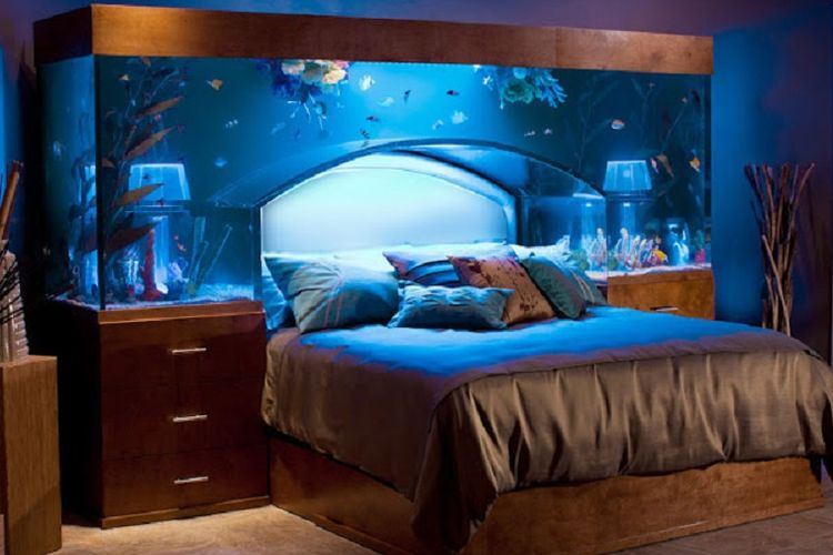 Akuarium Di R Tidur