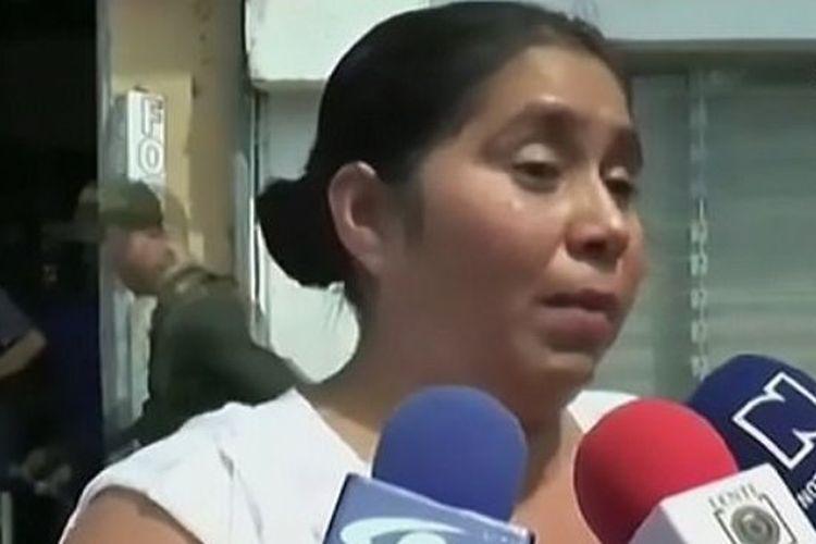 Nenek korban Nelly Tique memberikan keterangan tentang kasus yang menimpa cucunya yang masih berusia 13 bulan.