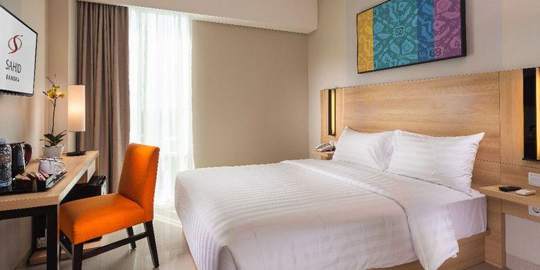 Hotel Sahid Bangka di Pangkal Pinang, Provinsi Bangka Belitung, Senin (16/11/2018).