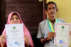 Kisah Seorang Ayah di Aceh Hadiri Wisuda Gantikan Putrinya yang Meninggal