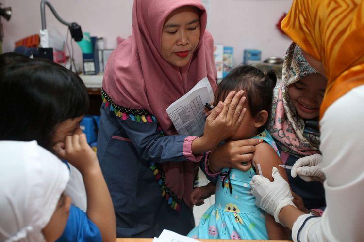 Imunisasi Difteri Anak Sekolah Di Jakarta Terkendala Libur Panjang