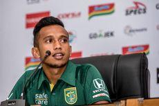Kembali dari Timnas, Irfan Jaya Dipastikan Main Lawan Persib Bandung