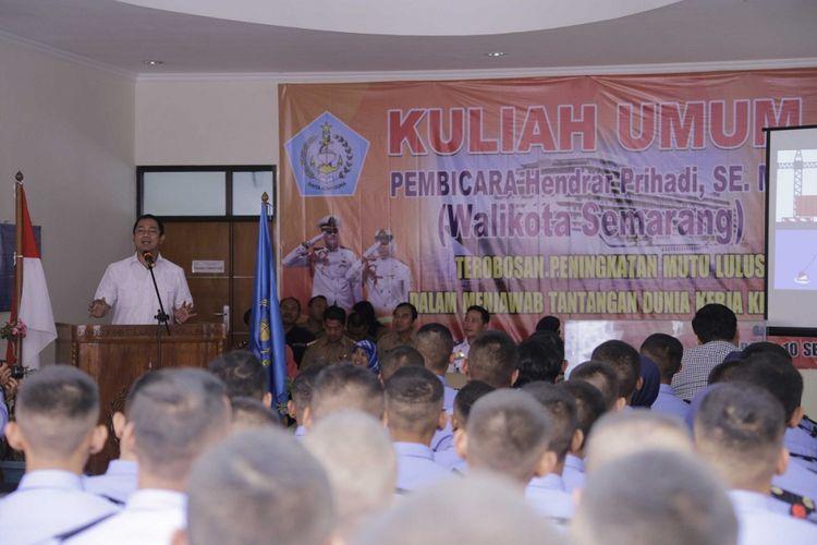 Hendrar Optimistis Semarang Bisa Jadi Poros Maritim Indonesia