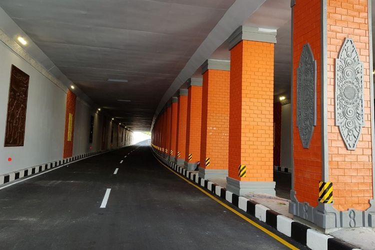 Underpass Simpang Tugu Ngurah Rai di Bali.