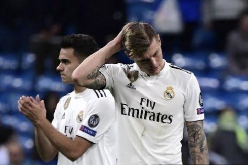 Kalah Lagi, Real Madrid Catat Rekor Terburuk dalam 45 Tahun