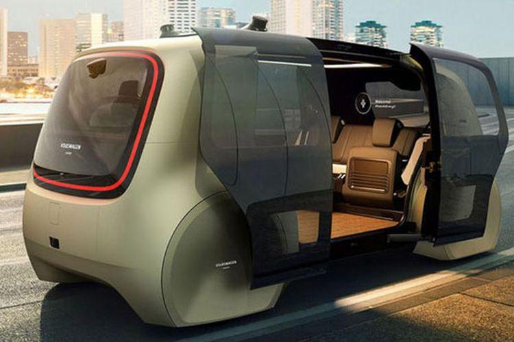 Konsep otonomos Volkswagen Sedric.