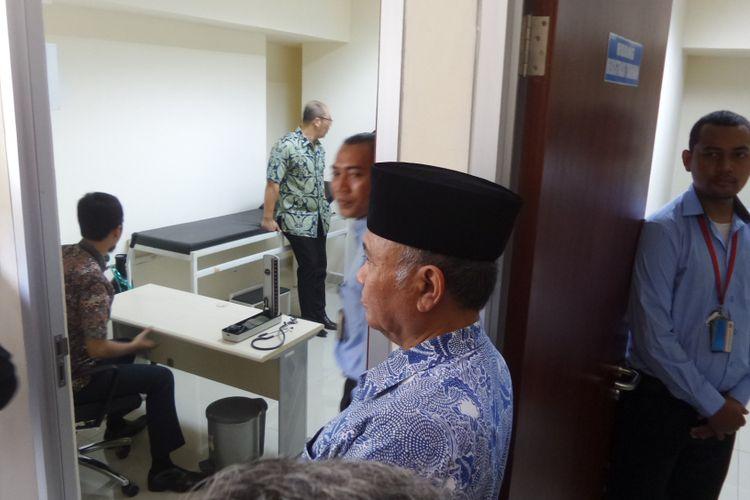 Klinik di Rumah Tahanan Gedung KPK Jakarta, Jumat (6/10/2017).