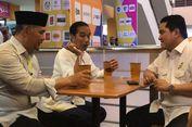 Jokowi Ngobrol Bareng Timses di Mal Jambi