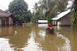 Desa di Kampar Riau Ini Sudah 15 Hari Kebanjiran, Warga Butuh Bantuan