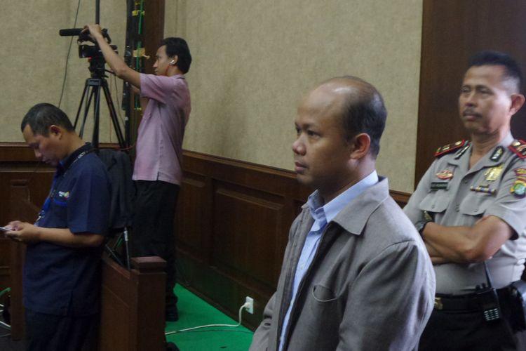 Ketua Tim Teknis E-KTP Husni Fahmi bersaksi di Pengadilan Tipikor Jakarta, Senin (17/4/2017).