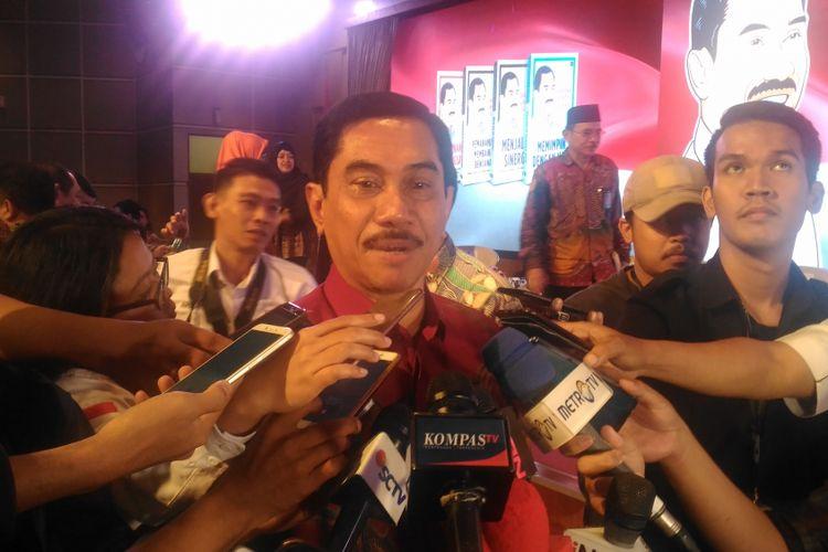 Kepala BNPT Suhardi Alius di Auditorium Lemhanas, Jakarta Pusat, Kamis (14/2/2019).