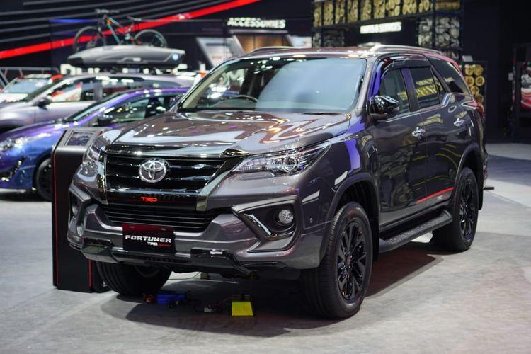 Toyota memperkenalkan pembaruan Fortuner TRD Sportivo