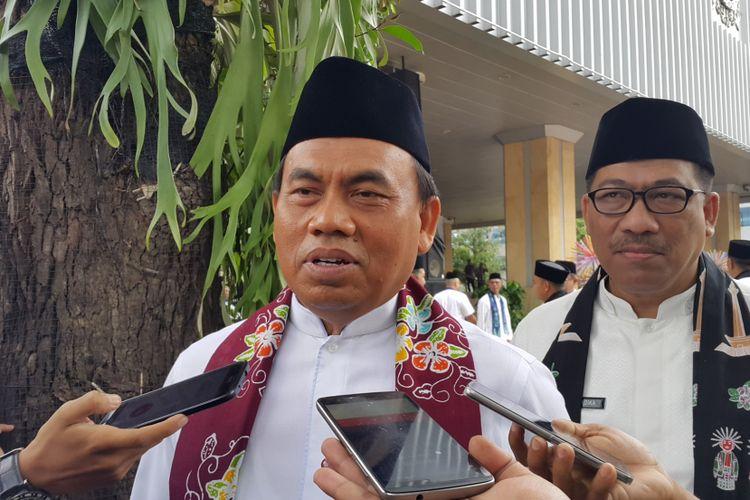 Sekretaris Daerah Provinsi DKI Jakarta Saefullah di Balai Kota DKI Jakarta, Jalan Medan Merdeka Selatan, Kamis (12/10/2017).