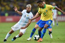 Brasil Vs Argentina, Aguero Mengaku Dipukul Dani Alves