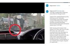 Viral Video Seorang Pria Keluarkan Pistol, Marahi Warga yang Diduga Lakukan Pungli