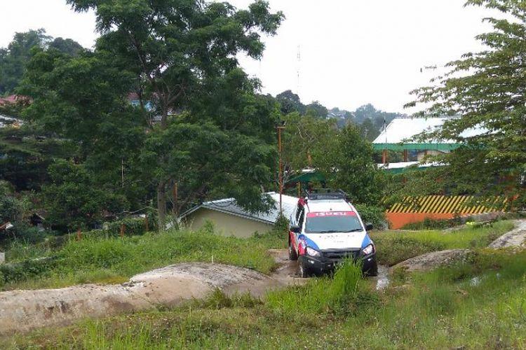 Menjajal ketangguhan Isuzu mu-X 4x4 di medan off-road