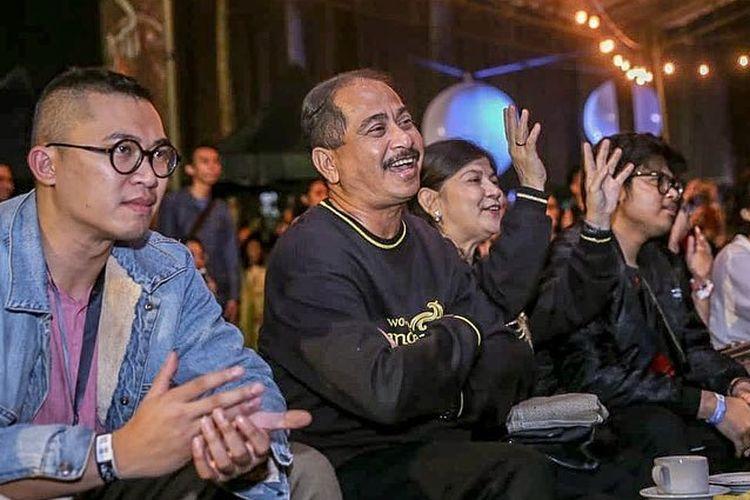 Menpar Arief Yahya saat hadir meresmikan Orchid Forest Cikole, Bandung.