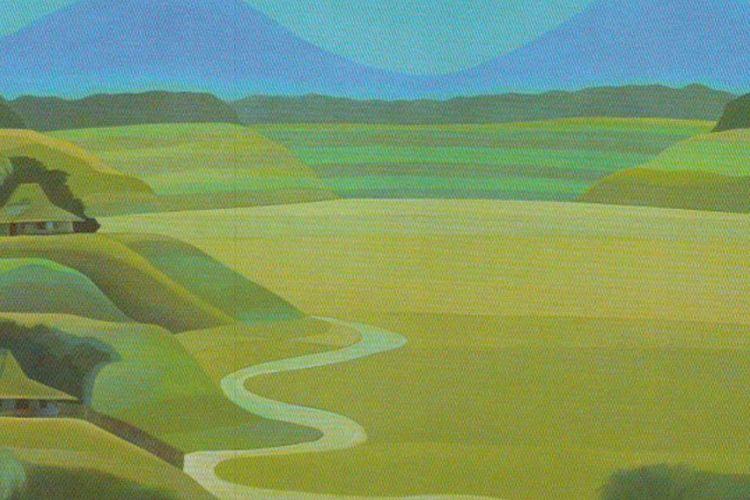 Salah satu lukisan Arfial