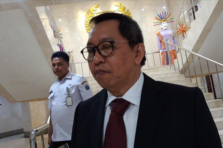Sekretaris DPRD DKI Jakarta M. Yuliadi, di Gedung DPRD DKI, Jakarta Pusat, Kamis (15/8/2019)