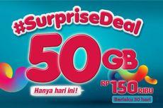 Khusus Hari Ini, Paket Data 50 GB Telkomsel Mulai Rp 130.000