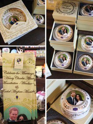 Suvenir Royal Wedding yang dijual Disney World