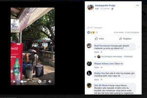 Viral, Video Turis Asing Mengais Makanan dari Tong Sampah di Bali