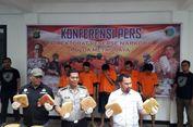 Polisi Gagalkan Pengiriman 1,42 Kwintal Ganja Menggunakan Truk Modifikasi