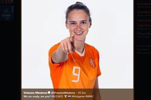 Piala Dunia Wanita 2019, Vivianne Miedema Ukir Rekor Baru