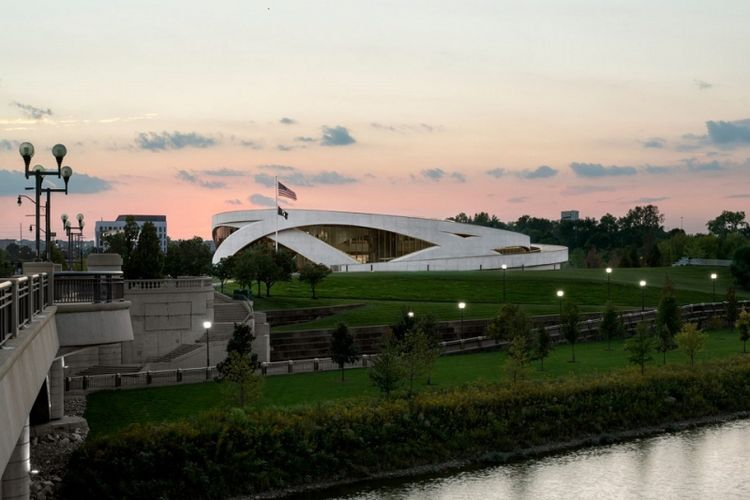 The National Veterans Memorial and Museum di Ohio, AS.