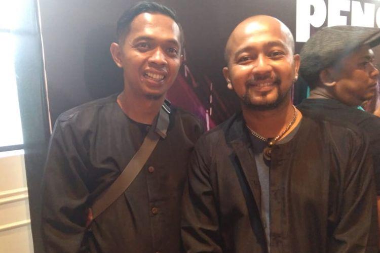 Andra Manihot (kanan), pemeran Dikdik dalam film Preman Pensiun. Film tersebut akan tayang di bioskop Indonesia, 17 Januari 2019.