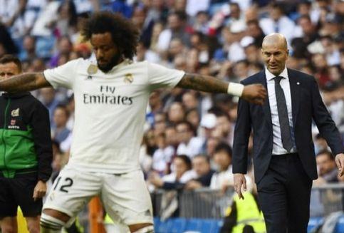 Pembelaan Zinedine Zidane untuk Marcelo